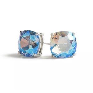 Clara Earrings/Light Sapphire Swarovski Crystal